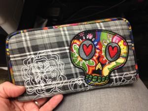 My cool skull wallet