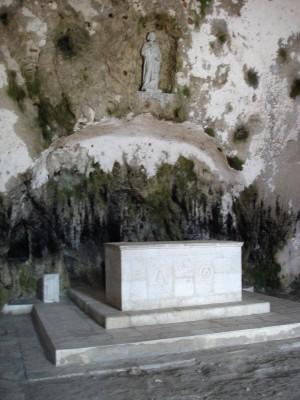 Church of St Peter in Antakya altar