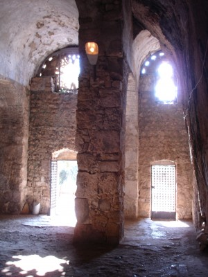 Church of St Peter in Antakya looking out from altar