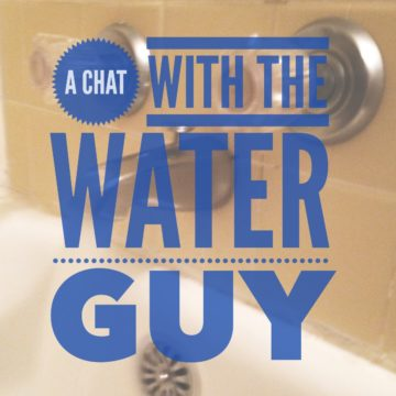 chat with the water guy