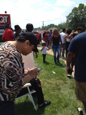families in Ferguson Missouri