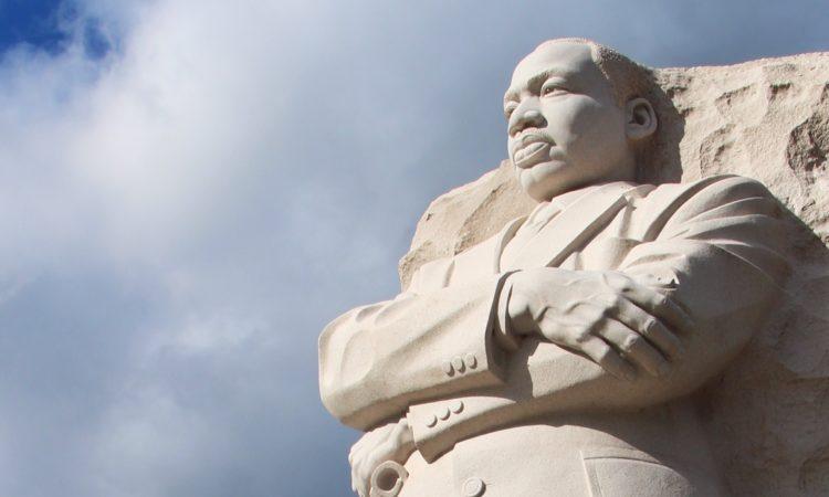 MLK monument in Washington DC