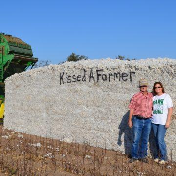 Daniel & Suzie Wilde at harvest - Copy