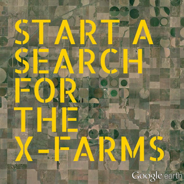search of X-Farms, x marks the spot