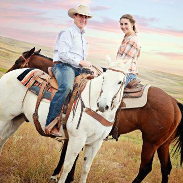 Texas farmers Royce & Kaitlyn O'Neal