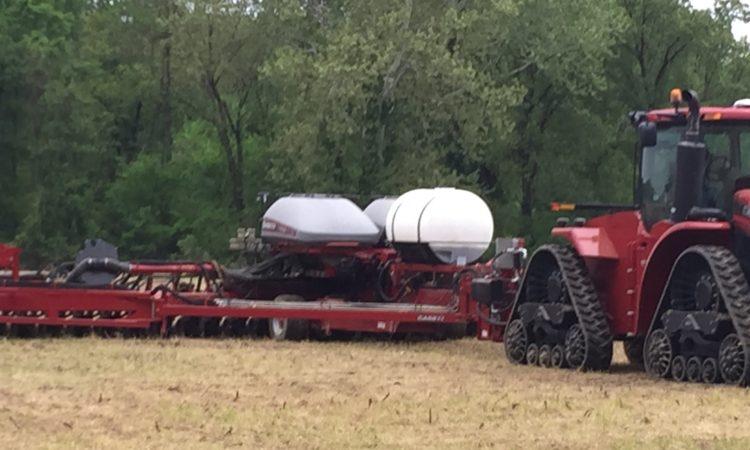 walker farms planting corn