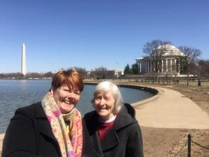 tidal basin & memorials in DC