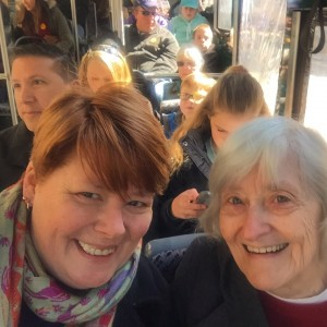 touring DC with mom