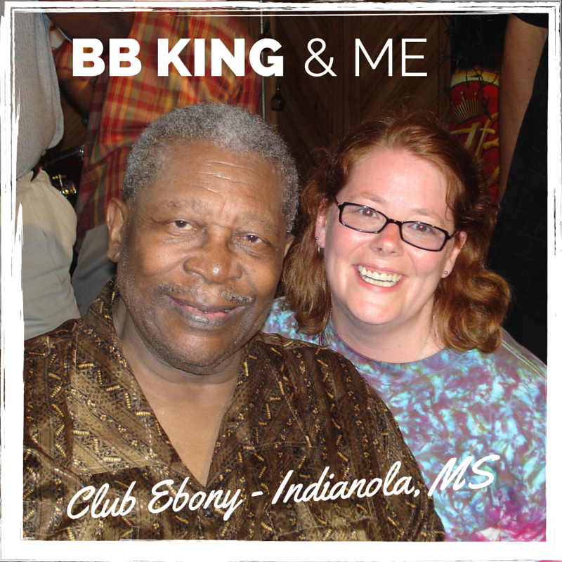 BB King and me after a concert