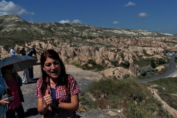 Best tour guide in Cappadocia Kezban Karatoy