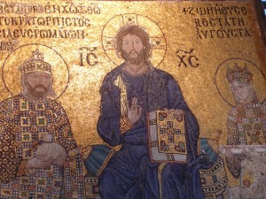 religious art at Hagia Sophia