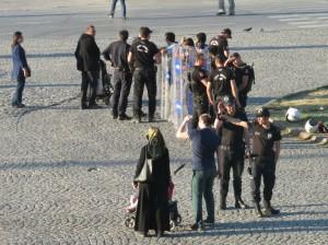 police in Taksim
