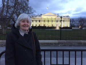mom at the white house