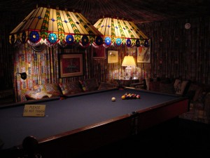 Graceland game room