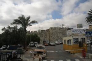 wall between Jerusalem & Bethlehem
