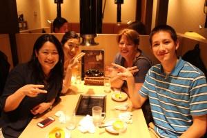 Yakiniku restaurant in Osaka