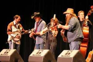 The SteelDrivers in 2009 with Chris Stapleton