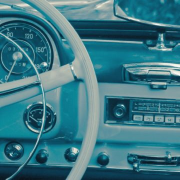 old car AM radio