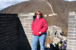 my visit to the Great Wall of China