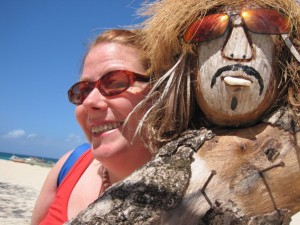 visiting a friend on puka beach