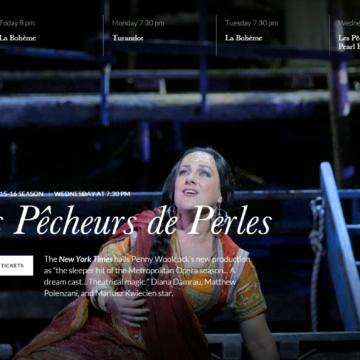 Metropolitan Opera The Pearl Fishers