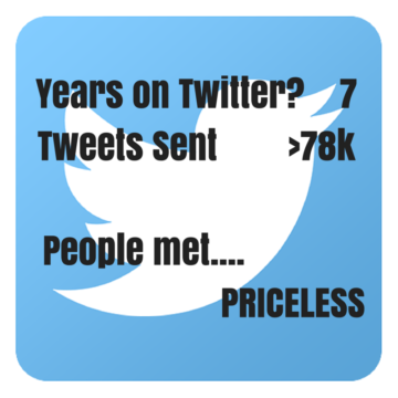 seven years on Twitter