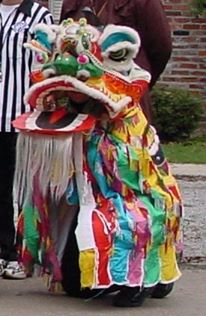 me as a Chinese dragon