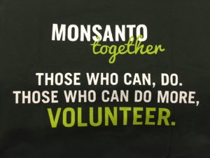 Monsanto feed the world
