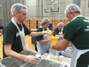 Monsanto world food day volunteers feed the world