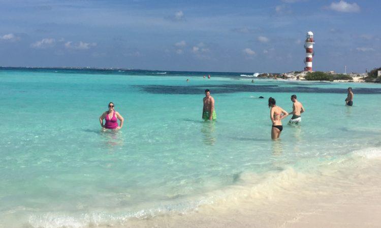 beach on Cancun
