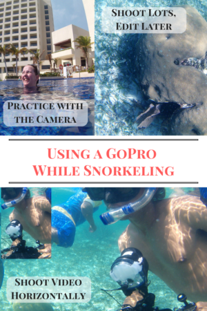 Using GoPro while Snorkeling