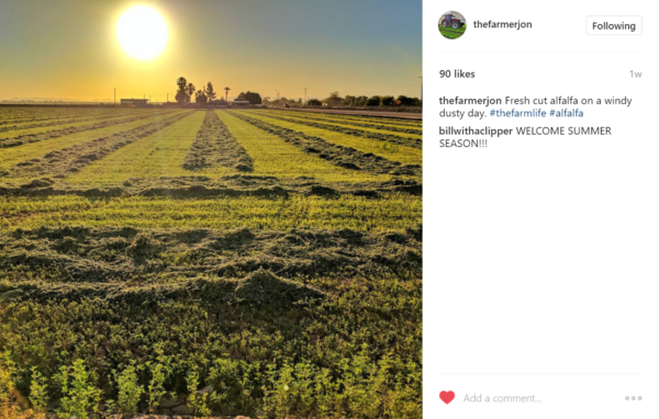 Jon Dinsmore thefarmerjon on instagram