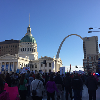 St Louis Arch and Courthouse