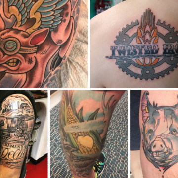 Farmer with a Thumb-Stopping Ink Spawns Farm Tattoo Convos